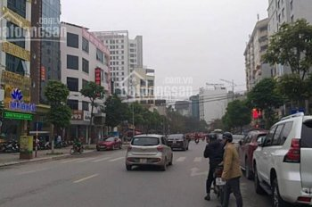 Bán nhà mặt phố Hoàng Quốc Việt, 120m2, MT 15m, lô góc