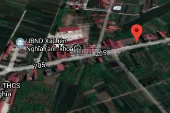 Bán nhanh 100m2 đất trên trục đường 205, thuộc xã Liên Nghĩa