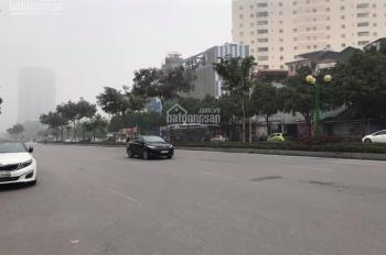 Bán nhà mặt phố Nguyễn Văn Huyên 120m2 x 7 tầng đang cho thuê 200tr/tháng