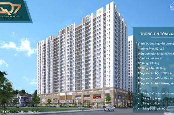 Mở bán căn hộ cao cấp dự án đường Nguyễn Lương Bằng, Q7, giá chỉ 40tr/m2 - 45tr/m2, góp 18 tháng