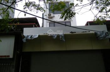 Cho thuê nhà mới xây dựng MP Hạ Yên ( Trần Kim Xuyến), DT 80m2 x 6 tầng, MT 5m, TM. Giá 40tr/th