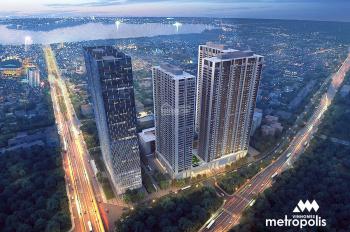 Bán cắt lỗ sâu căn hộ 4PN Vinhomes Metropolis, 146m2, view đẹp thoáng mát, giá 9,5tỷ. LH 0988942995