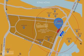Cần bán shophouse mặt đường 10 làn Võ Chí Công - kinh doanh ngay. 0917551183