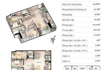 Cần bán suất ngoại giao căn 03 153m2 tại dự án Grandeur Palace. Giá cả thỏa thuận
