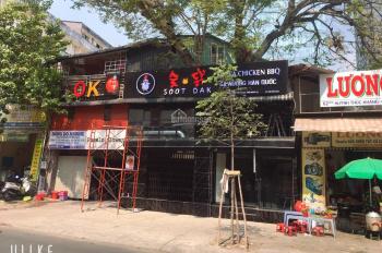 Cho thuê mặt tiền đường Nguyễn Tãi, Quận 1, DT 9.5x19m, trệt, 2 lầu. 135tr/tháng