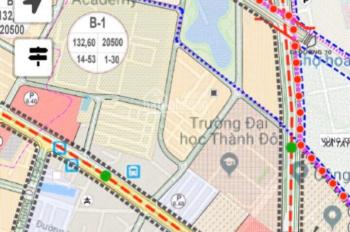 Mình chính chủ cần ban ô góc 40.9m2, đối diện đại học Thành Đô
