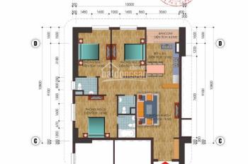 Bán căn góc 3PN, 107m2, cửa Đông Nam, giá 2,4 tỷ tại chung cư C14 Bắc Hà - Tố Hữu. LH 0946543583
