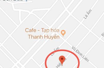 Bán đất đường Nguyễn Hiến Lê đường thông khu đô thị sinh thái Hòa Xuân, giá cực rẻ: 0935666742