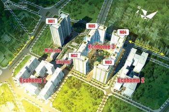 Suất mua vào tên, chọn căn tầng tại tòa N05 Ecohome 3 giá ưu đãi ra tết vẫn được ký HĐ: 0965362204