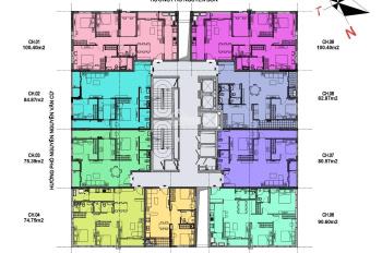 Bán chung cư cách Hồ Gươm 2km, full nội thất, 75m2 giá hơn 2 tỷ