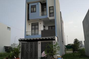 Nhà mặt tiền 24m, giá 2 tỷ 1, sổ riêng, Bình Chánh Long An