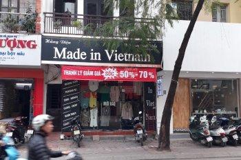 Cho thuê nhà 90m2 x 3T, MT 5m, mặt phố Yên Lạc, HBT, phù hợp làm VP, đào tạo, trụ sở cty