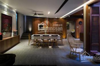 Cho thuê biệt thự mini nội thất gỗ tuyệt đẹp, Trần Quang Khải, Quận 1, 8x16m-3 lầu, 25 triệu /th