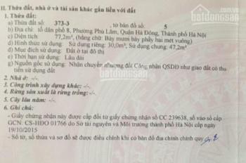 Bán đất DT 30 m2 giá 800 triệu tại Huyền Kỳ, Phú Lãm, Hà Đông, Hà Nội, LH 0981 782 567 Ms Dung