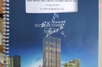 Bán gấp chung cư FLC Star Tower Quang Trung Hà Đông 62m2 2PN. Lh 0869753588