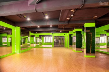 Cho thuê mặt bằng mở phòng tập yoga, gym, spa tầng 2 khách sạn 9 tầng Nguyễn Thái Học, Đống Đa, HN
