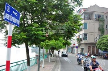 Bán nhà mặt phố Nguyễn Đình Thi 153m2 * 3 tầng, nở hậu. Giá 39 Tỷ
