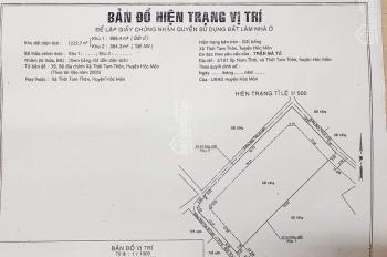 Ông anh vỡ nợ cần bán gấp lô đất ở Hóc Môn 1222.7 m2 giá chỉ 15tr/m2, LH 0937172626 để biết thêm