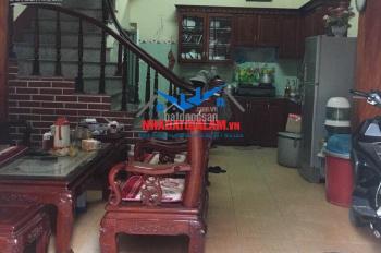 Bán nhà riêng 4 tầng tại Bình Minh, Trâu Quỳ diện tích 35m2 MT 4,5m hướng Tây tứ trạch