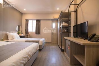 Cho thuê khách sạn 18 phòng tại phố tây Cô Giang, DT: 4x20m, 8 tầng, full nội thất mới, 138 tr/th