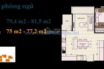 Chính chủ bán căn hộ 2 phòng ngủ dự án Thủ Thiêm Dragon Quận 2