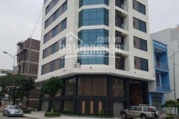 Cho thuê nhà mặt phố Đê La Thành, gần Kim Mã: Diện tích 80m2 x 8 tầng, mặt tiền lô góc 10m và 8m