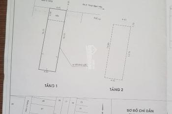 Bán hẻm 6m 364 Thoại ngọc hầu 4.5x16.5m, 1 lầu giá 5.35 tỷ