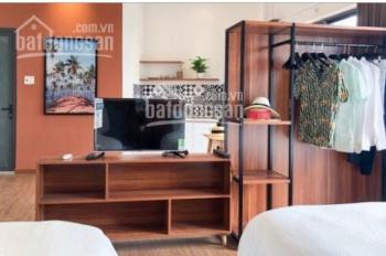 Cho thuê tòa nhà căn hộ mini mặt tiền đường Bà Triệu mới sơn sửa và đầu tư. 45 tr/ tháng