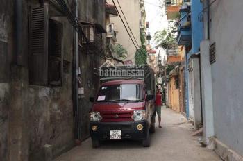 Bán nhà phân lô ngõ Trương Định, ô tô vào nhà, DT 50m2x5T mới, giá 5.1 tỷ