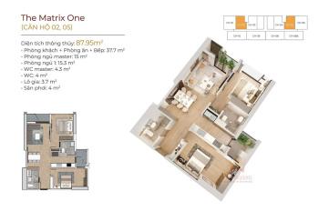 Mở bán đợt 1 căn hộ cao cấp Matrix One Mễ Trì  cơ hội đầu tư hot nhất 2020