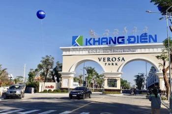 Duy nhất 296 căn biệt thự, nhà phố Verosa Khang Điền ngay TT Q9, hoàn thành 90%, tham quan chọn căn