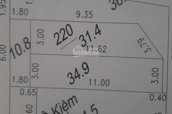 Bán mảnh thanh lãm 32m sổ, 60m sử dụng giá 1,2 tỷ. Lh: 0944.22.44.89