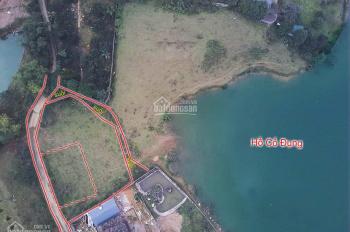 Cần bán 1082m2 đất tuyệt đẹp bám mặt Hồ Cố Đụng , Tiến Xuân , Thạch Thất , HN