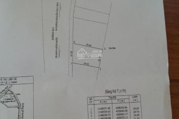 Bán đất mặt tiền đường 30/4 phường Rạch Dừa