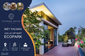 Bán Biệt Thự Song Lập Suất Ngoại Giao Siêu VIP 100% View Hồ Ecopark Grand 21tỷ 0968705333