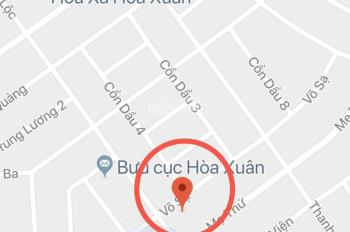 Bán đất đường Võ Sạ đường thông dài giá cực tốt thuộc Hòa Xuân, Cẩm Lệ, Đà Nẵng. LH: 0935666742