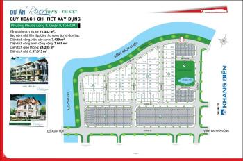 Bán đất nền Trí Kiệt, Phước Long B. Dt Biệt Thự lô B: 8x30, giá tốt 32tr/m2( Bao móng cọc đà kiềng)
