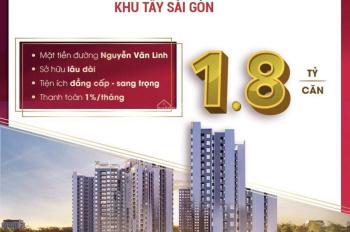 Chưa đầy 20 triệu/tháng sở hữu ngay căn hộ cao cấp khu hành chính phía tây Sài Gòn.