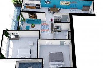 Dự án Gateway Vũng Tàu bán căn hộ 2PN 2WC 73m2 giá chỉ 1.780 tỷ  TL