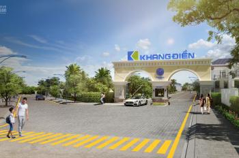 TT trước 3 tỷ sở hữu ngay nhà phố BT Khang Điền, hỗ trợ lãi suất 0%, ân hạn gốc, CK lên tới 18%