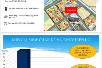 Phân tích tiềm năng tăng giá khu Shophouse TMDV Biển Hồ Vinhomes Ocean Park