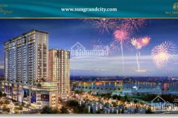 Bán gấp căn 58m2 Sun Grand City - Thụy Khuê, giá 3,4 tỷ thương lượng. LH: 0916664220
