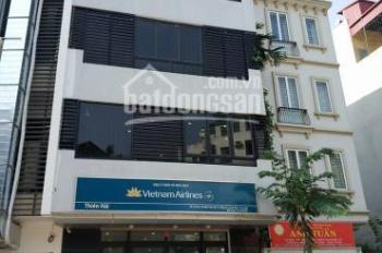 Cho thuê nhà mặt phố Vũ Phạm Hàm, Trung Hòa, Cầu Giấy 166m2 x 5T, mặt tiền 6,6m, giá 75 tr/th