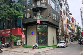 Bán nhà Lạc Chính - Trúc Bạch 170m2 MT10m - Hai mặt giáp Hồ - Xây Apartment đẹp0981212333
