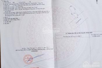 Cần bán 112m đất mặt tiền Bến Nôm, Rạch dừa, tpvt