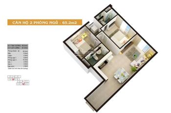 Sở hữu căn hộ 2PN 64m2 MT Võ Văn Kiệt Q8 chỉ với 699tr