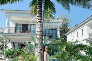 Cần bán gấp căn biệt thự Vinpearl Nha Trang Bay, view biển, đã có sổ đỏ, đang cho thuê 152tr/tháng