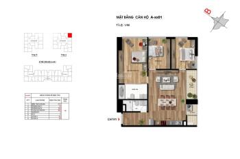 Bán gấp căn hộ 3 ngủ, 98m2 chung cư Imperia garden, 3.8 tỷ (bao phí), LH: 0967839010