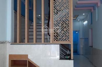 Nhà Sổ hồng 4x18m đúc 1 lầu 3PN - 3VS, hẻm 5m, 2 sẹc Trần Văn Mười, 0767.487.685