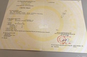 Cần bán 78m2 đất mặt đường Ngũ Hiệp, Thanh Trì, diện tích 78m2, liên hệ 0398048688